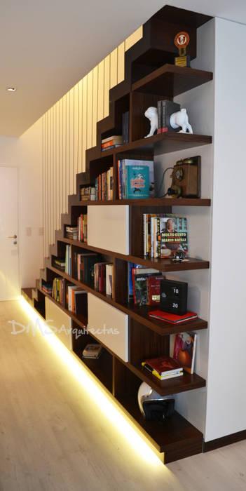 Departamento Barranco: Salas / recibidores de estilo  por DMS Arquitectas