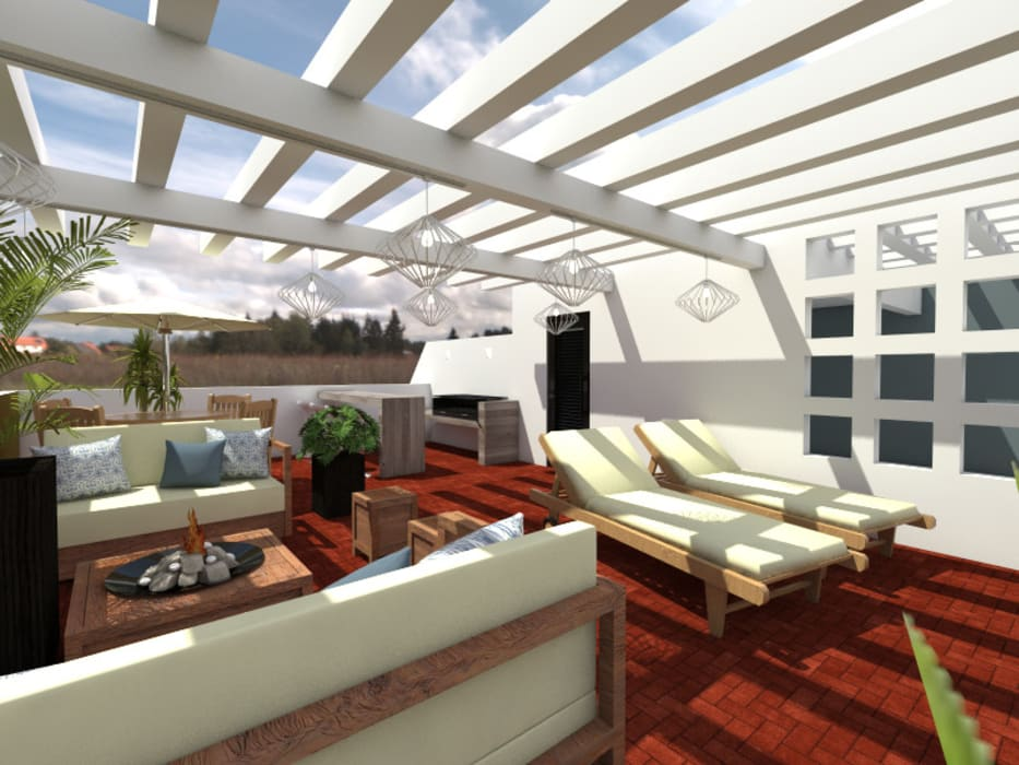 Terraza: Terrazas de estilo  por Arqternativa