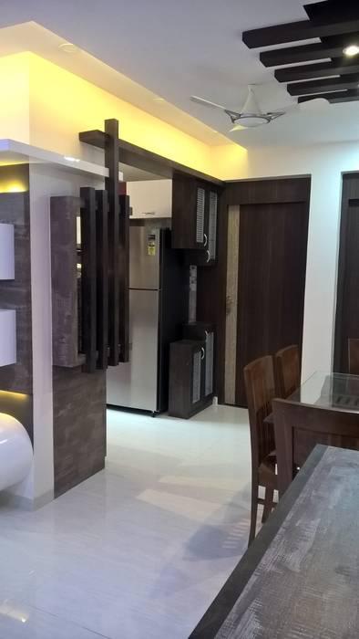 2 BHK PROJECT @2017 Modern kitchen by SHARADA INTERIORS Modern