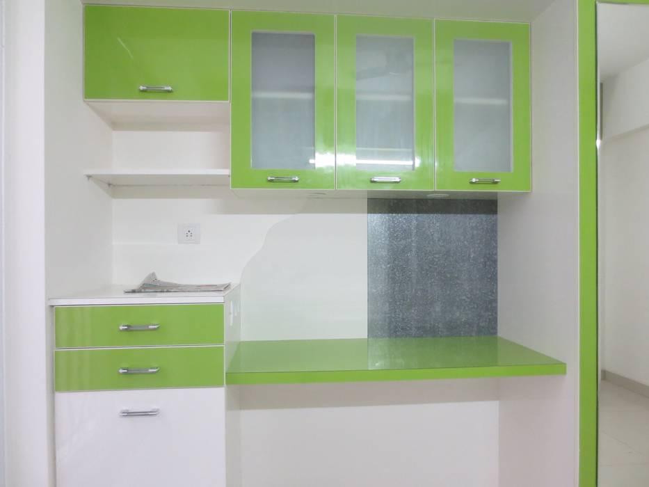 Elegant Interiors 3 BHK at SNN Raj Serenity : modern  by HCD DREAM Interior Solutions Pvt Ltd,Modern Plywood
