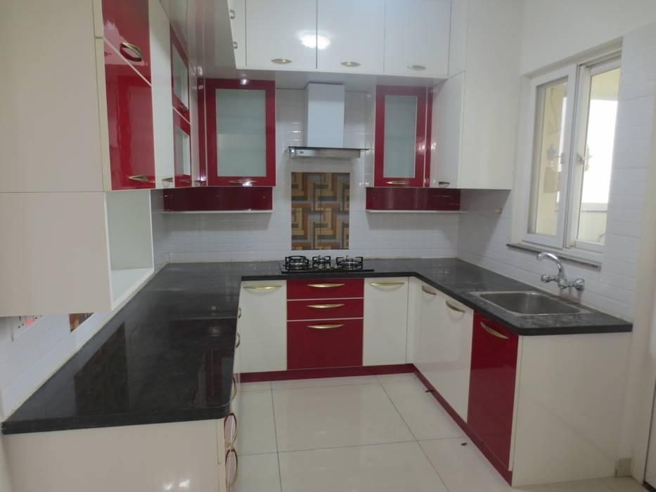 Kitchen: modern  by HCD DREAM Interior Solutions Pvt Ltd,Modern Plywood