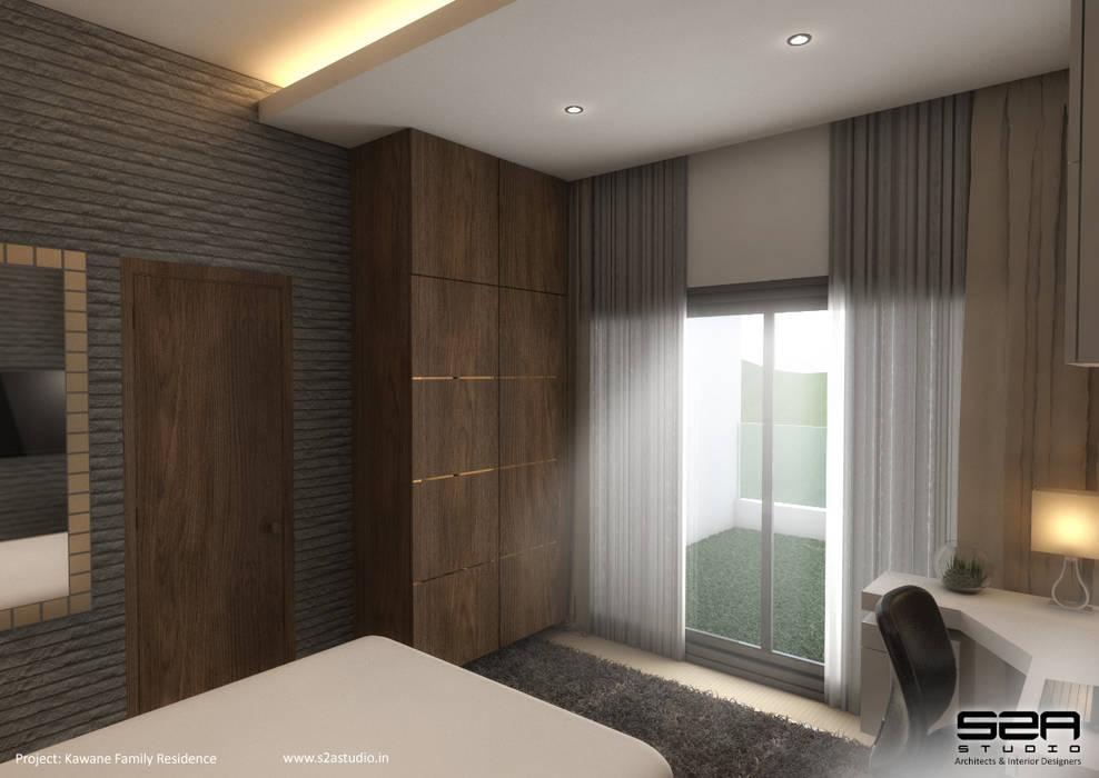 S2A studioが手掛けた寝室
