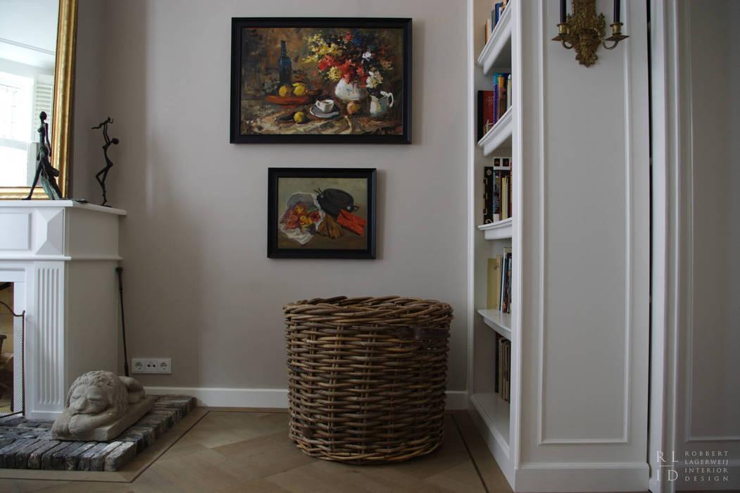 Oficinas de estilo clásico de Robbert Lagerweij Interior Design Clásico Ladrillos