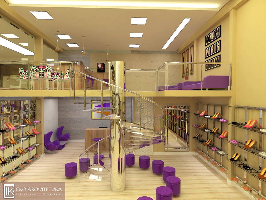ac748a178 Loja de sapatos visão geral da loja lojas e imóveis comerciais por cko  arquitetura jpg 933x700
