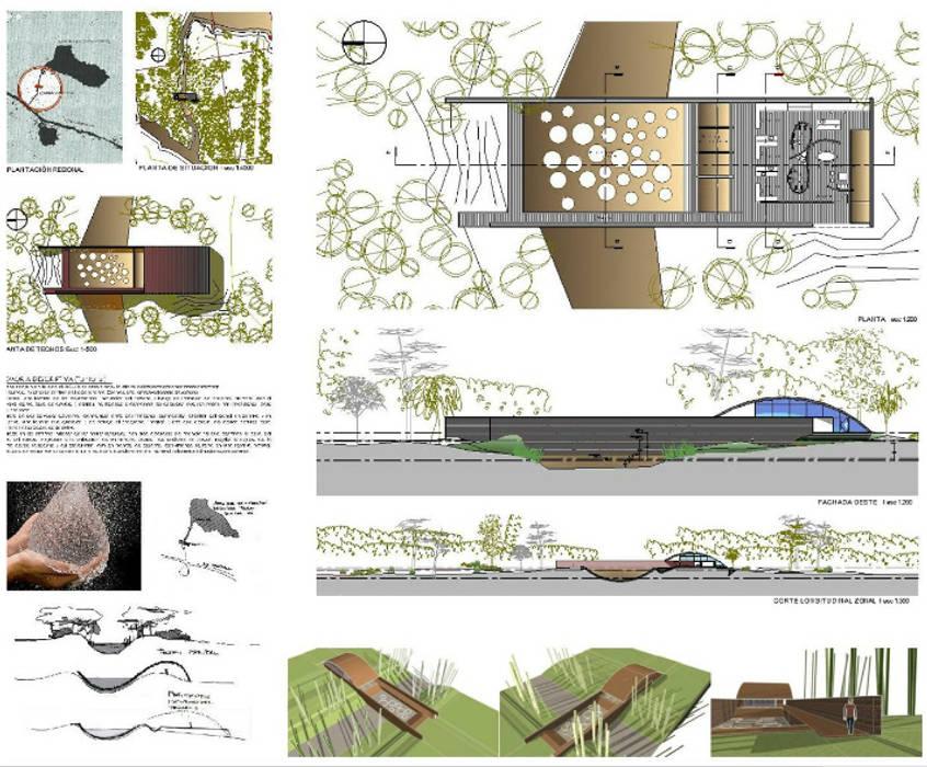 ECO-ISLA, AREA CIENTÍFICA: Casas de estilo moderno por AUREA Estudio de Diseño