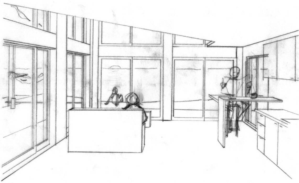 EL GRANERO: Casas de estilo  por AUREA Estudio de Diseño