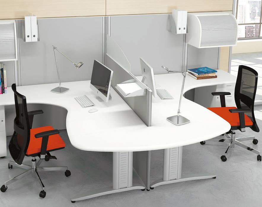 Ufficio Stile Moderno : Postazioni di lavoro format studio in stile in stile moderno di