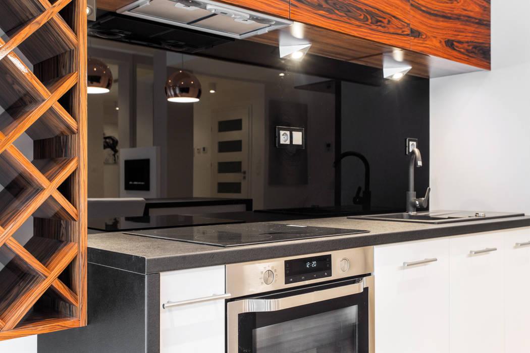 Czarny Lacobel Styl W Kategorii Kuchnia Zaprojektowany
