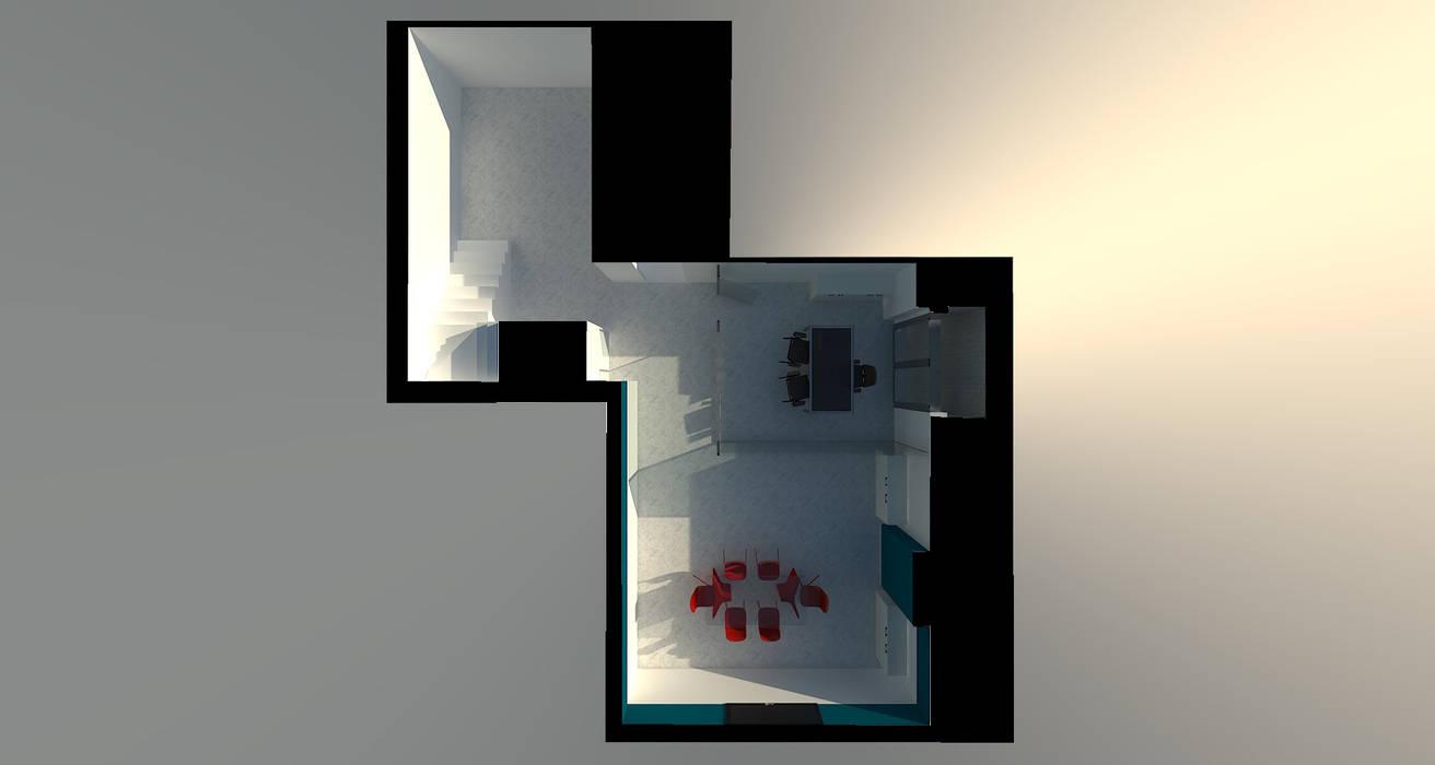 piano interrato: Complessi per uffici in stile  di creatiview projects
