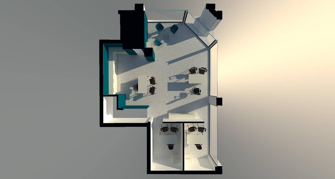 piano terra: Complessi per uffici in stile  di creatiview projects