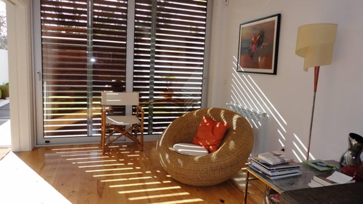 Sala de estar Quartos de criança modernos por GAAPE - ARQUITECTURA, PLANEAMENTO E ENGENHARIA, LDA Moderno