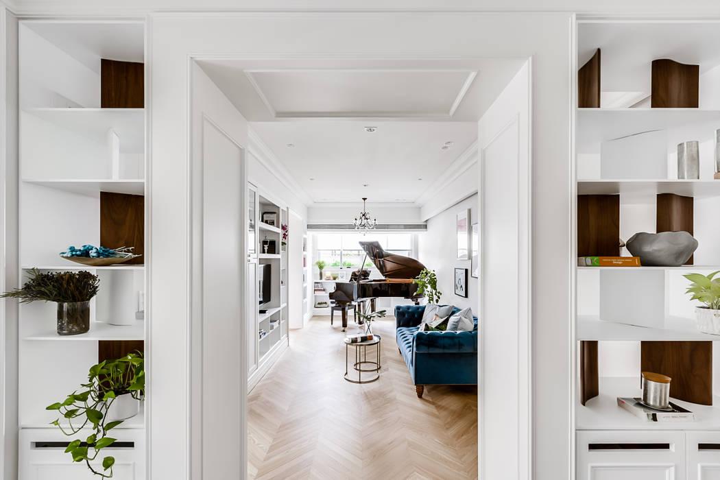 法式居所/ The French Charm 根據 爾聲空間設計有限公司 古典風 木頭 Wood effect