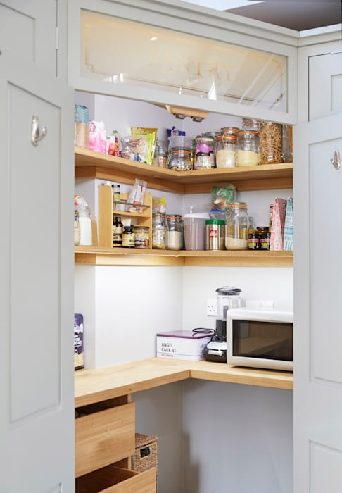 Friern Barnet 1 Laura Gompertz Interiors Ltd Dapur Klasik