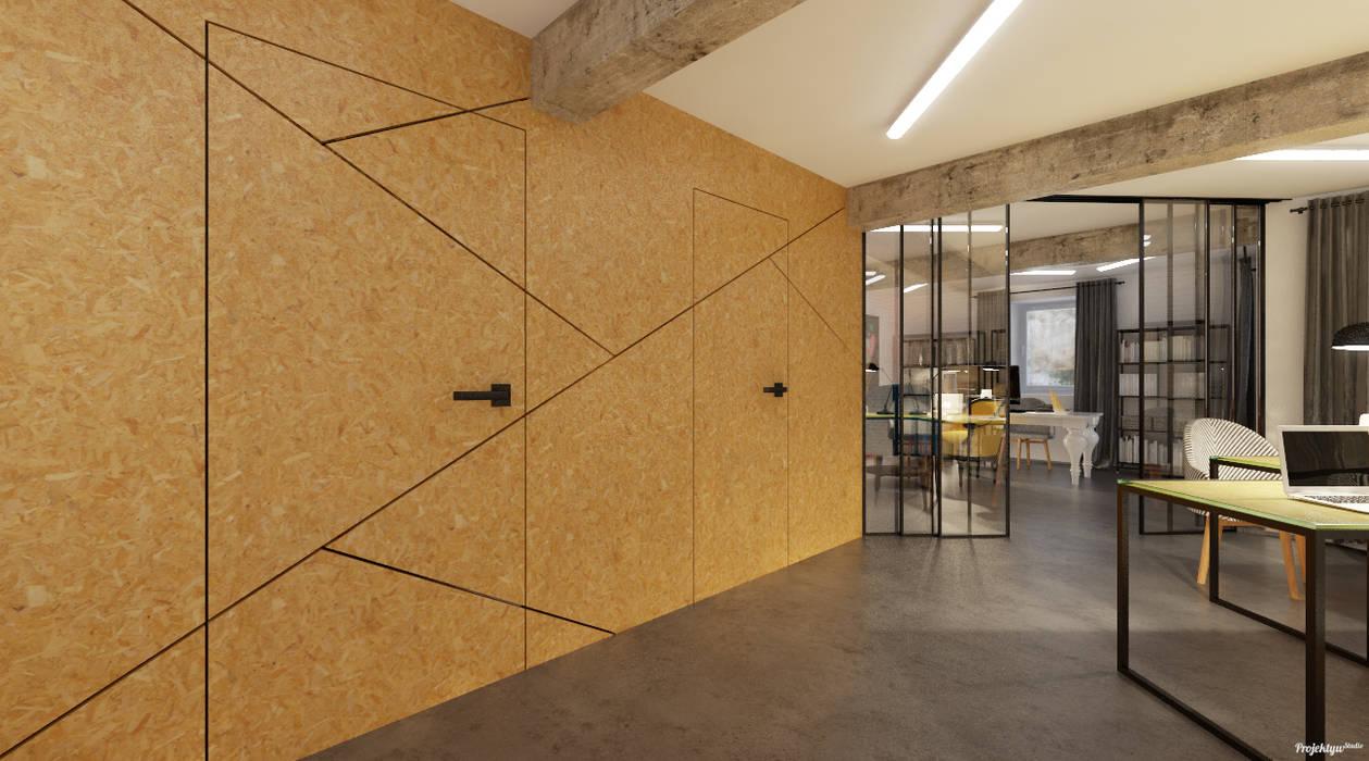 Projekt biura. Kraków Centrum od PRØJEKTYW | Architektura Wnętrz & Design Industrialny
