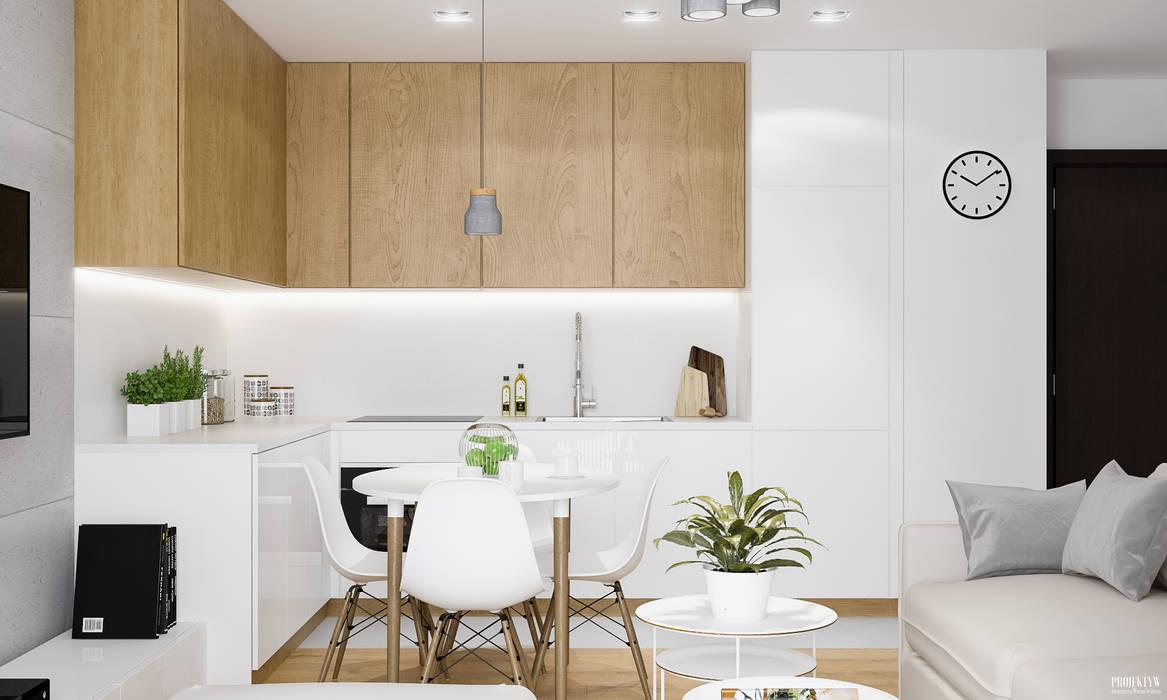 by PRØJEKTYW   Architektura Wnętrz & Design Scandinavian