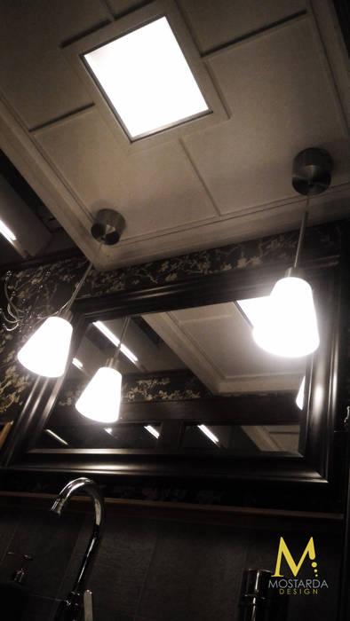 Come sull'Orient Express: Bagno in stile in stile Eclettico di Mostarda Design