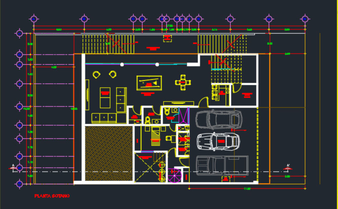 CASA MIRANDA : Salas multimedia de estilo clásico por SG Huerta Arquitecto Cancun