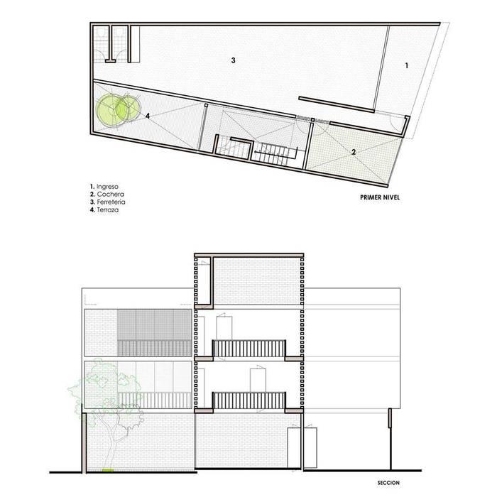 Conservatory by POMAC Arquitectos, Minimalist
