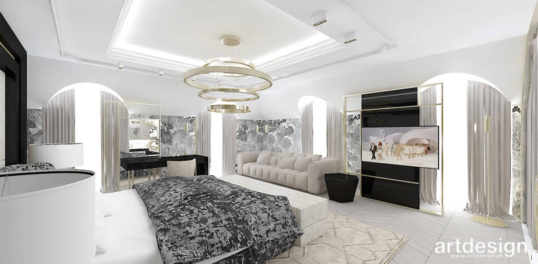 Duża Luksusowa Sypialnia Styl W Kategorii Sypialnia