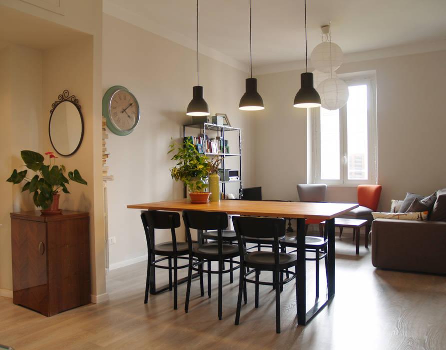 Ruang Makan oleh ArchEnjoy Studio , Skandinavia