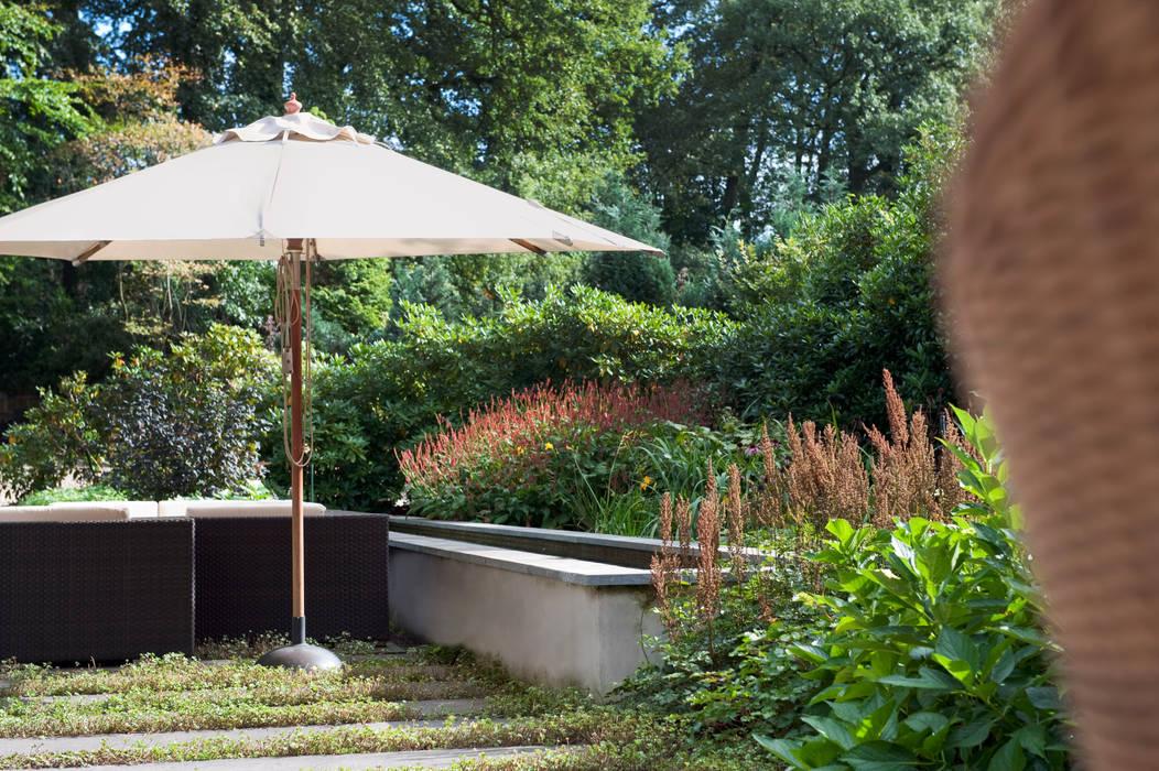Tien jaar oude terrassentuin: tuin door jaap sterk hoveniers homify