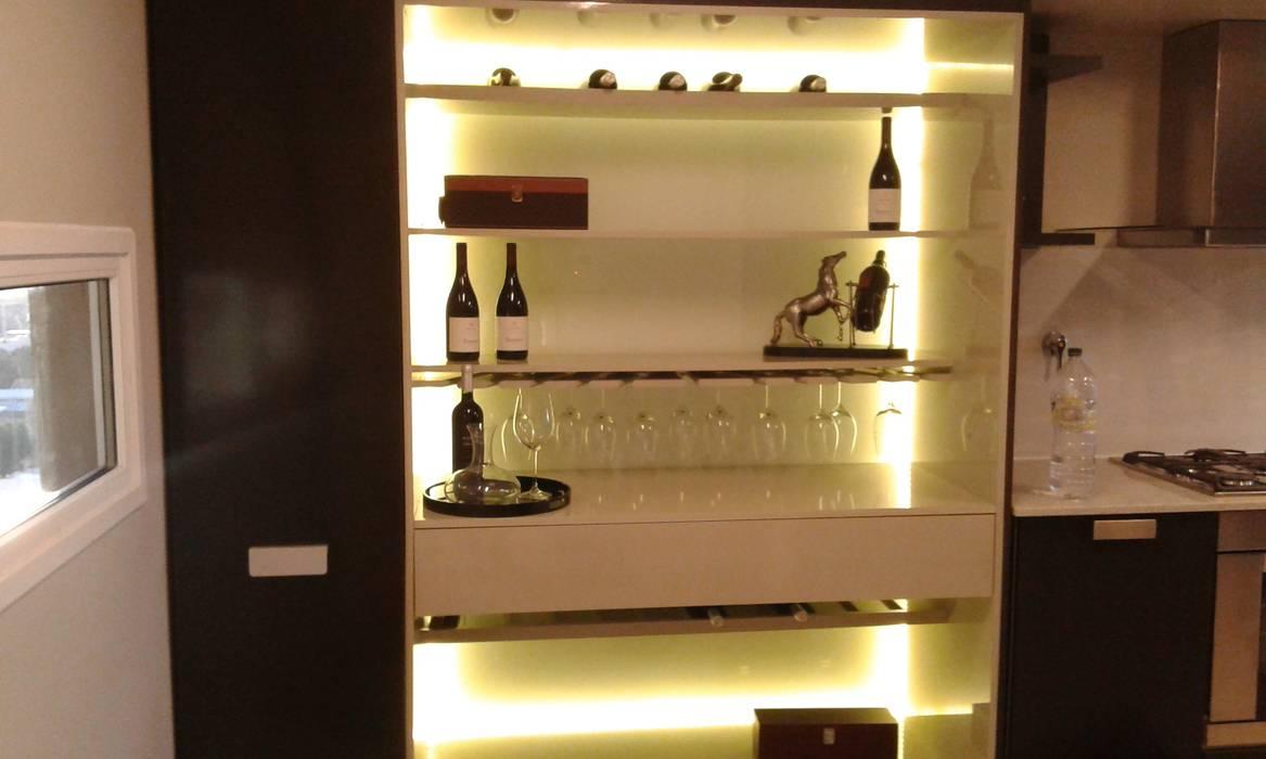 Bodegas de vino de estilo moderno de ARKIZA Moderno