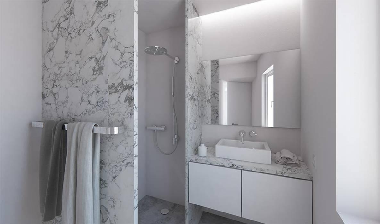 Instalação sanitária: Casas de banho  por atelier mais - arquitetura e design