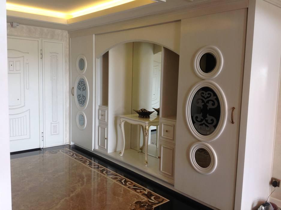 Pasillos, vestíbulos y escaleras clásicas de Attelia Tasarim Clásico