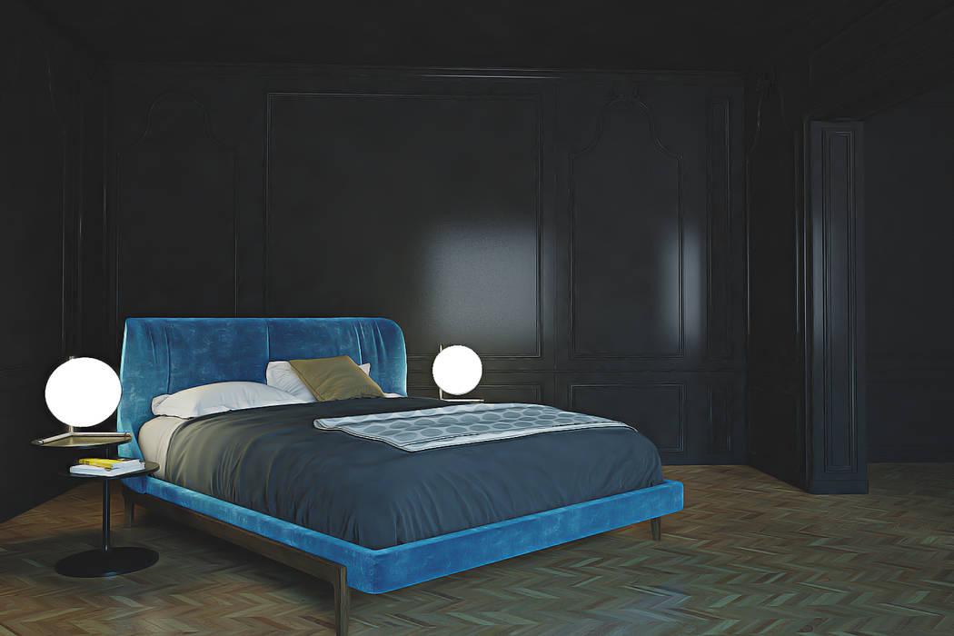 Kamar Tidur Modern Oleh homify Modern