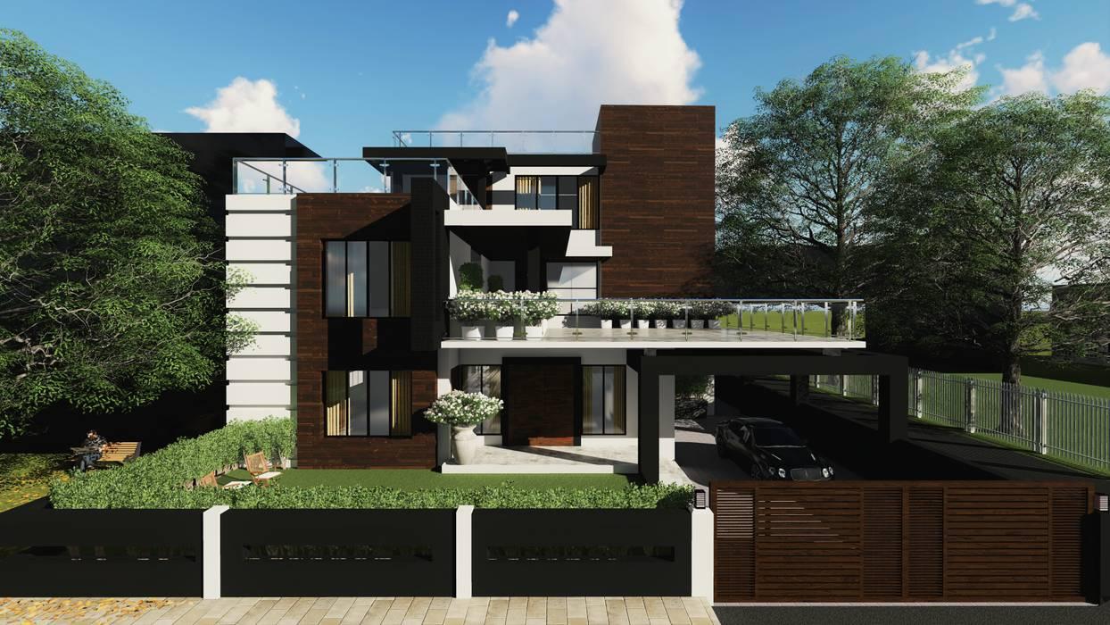 Studio Sohaib Modern houses