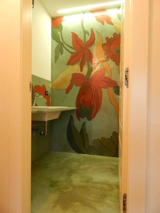 Phòng tắm theo Meraki di Irene Mancini Decorazione d'Interni, Hiện đại Bê tông