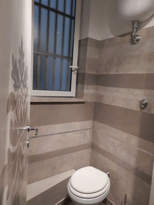 Modern Bathroom by Meraki di Irene Mancini Decorazione d'Interni Modern Concrete