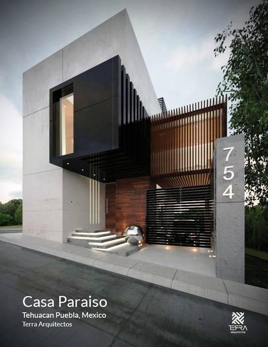 Casas de estilo minimalista de Fermin de la Mora Minimalista Concreto