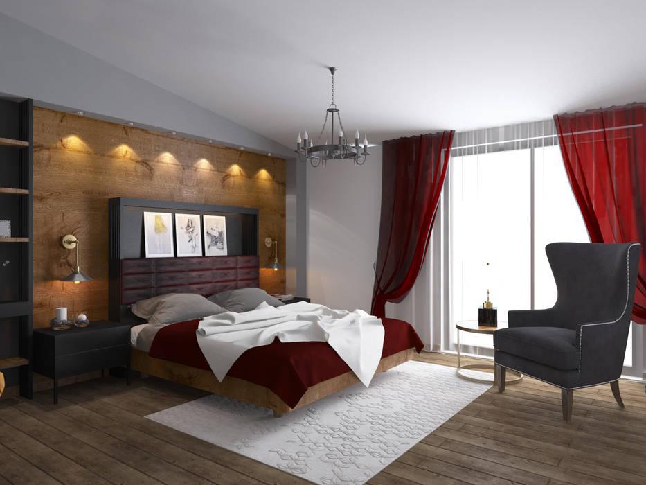 Bedroom by Öykü İç Mimarlık, Modern