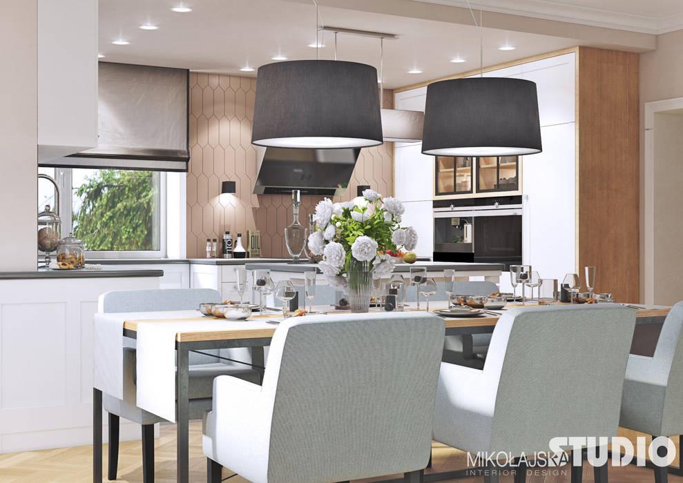 Küche mit essbereich : küche von mikolajskastudio | homify