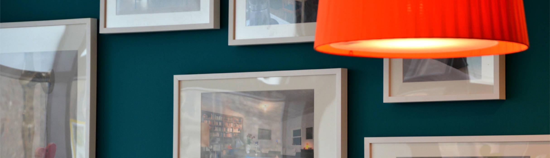 ORTerfinder 现代客厅設計點子、靈感 & 圖片 Blue