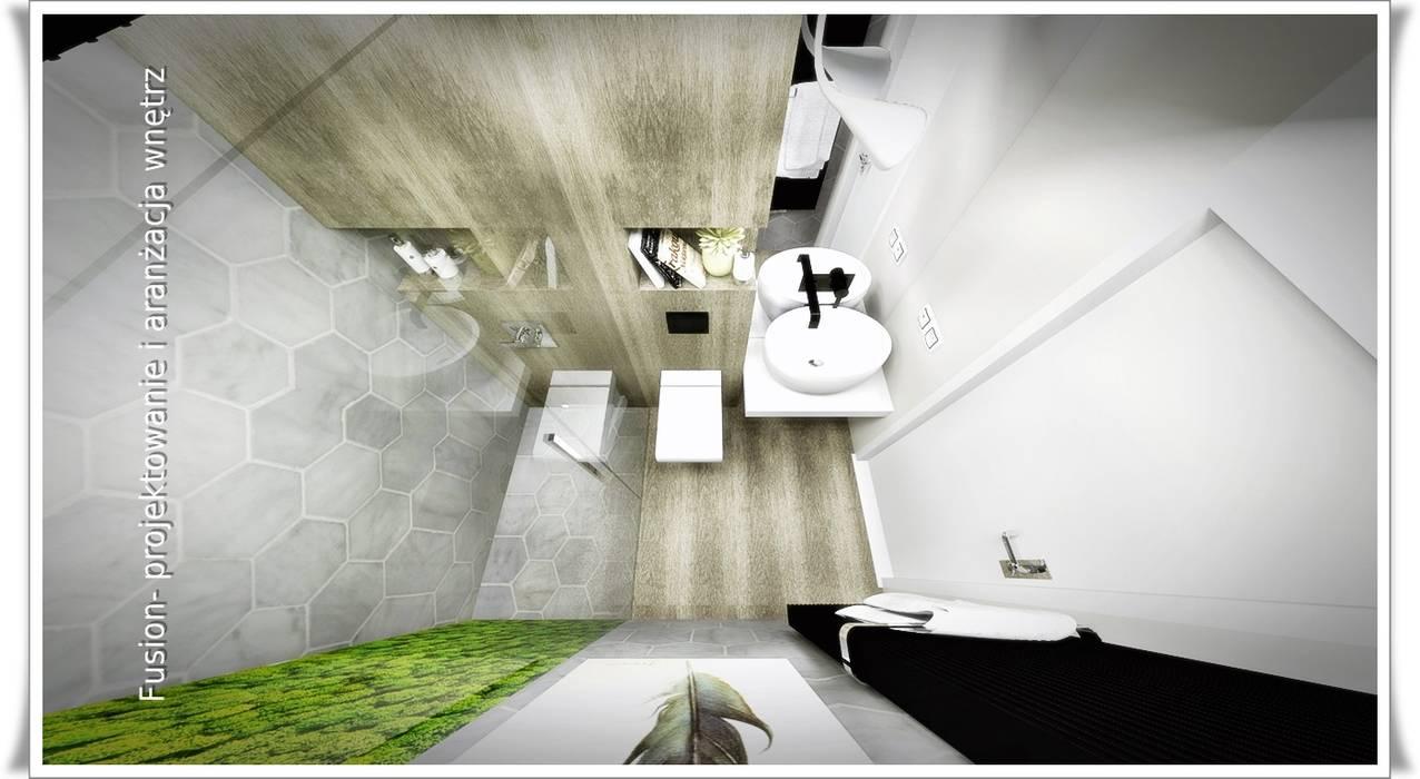 łazienka Z Mchem Styl W Kategorii łazienka