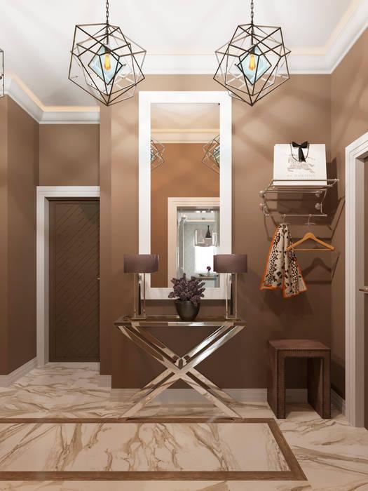 Студия дизайна интерьера Маши Марченкоが手掛けた廊下 & 玄関, モダン