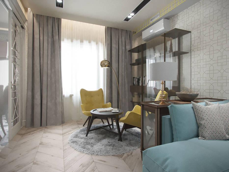 Modern living room by Студия дизайна интерьера Маши Марченко Modern