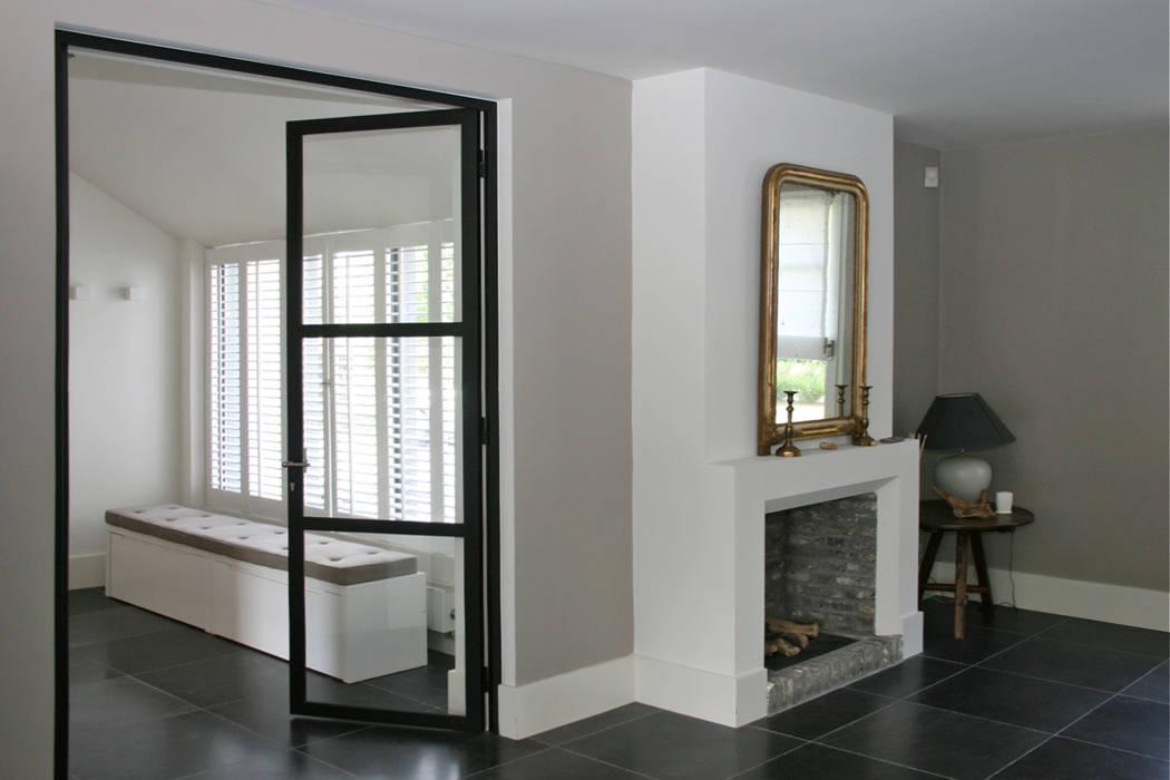 Openhaard In Woonkamer : Openhaard moderne woonkamer door doreth eijkens interieur