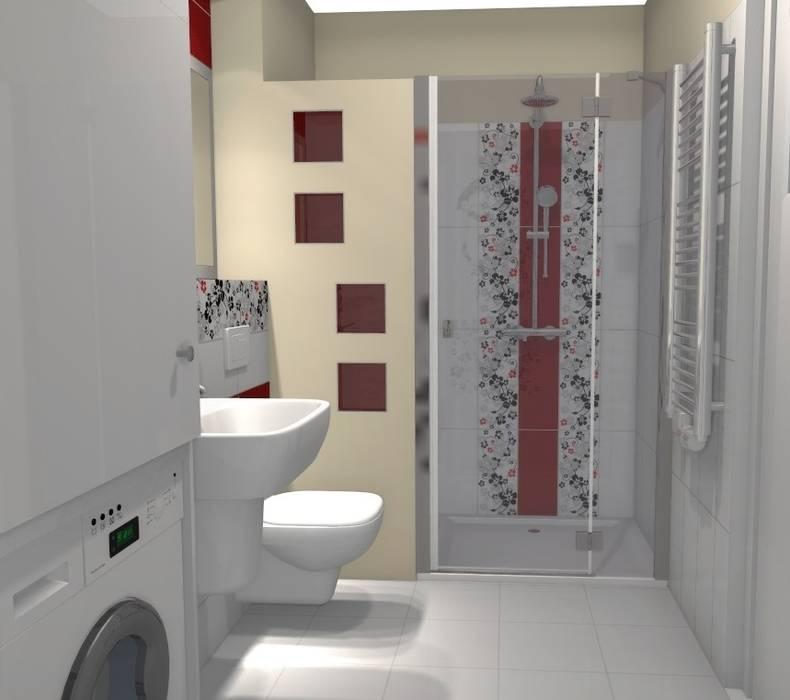 łazienka Po Remoncie Styl W Kategorii Zaprojektowany