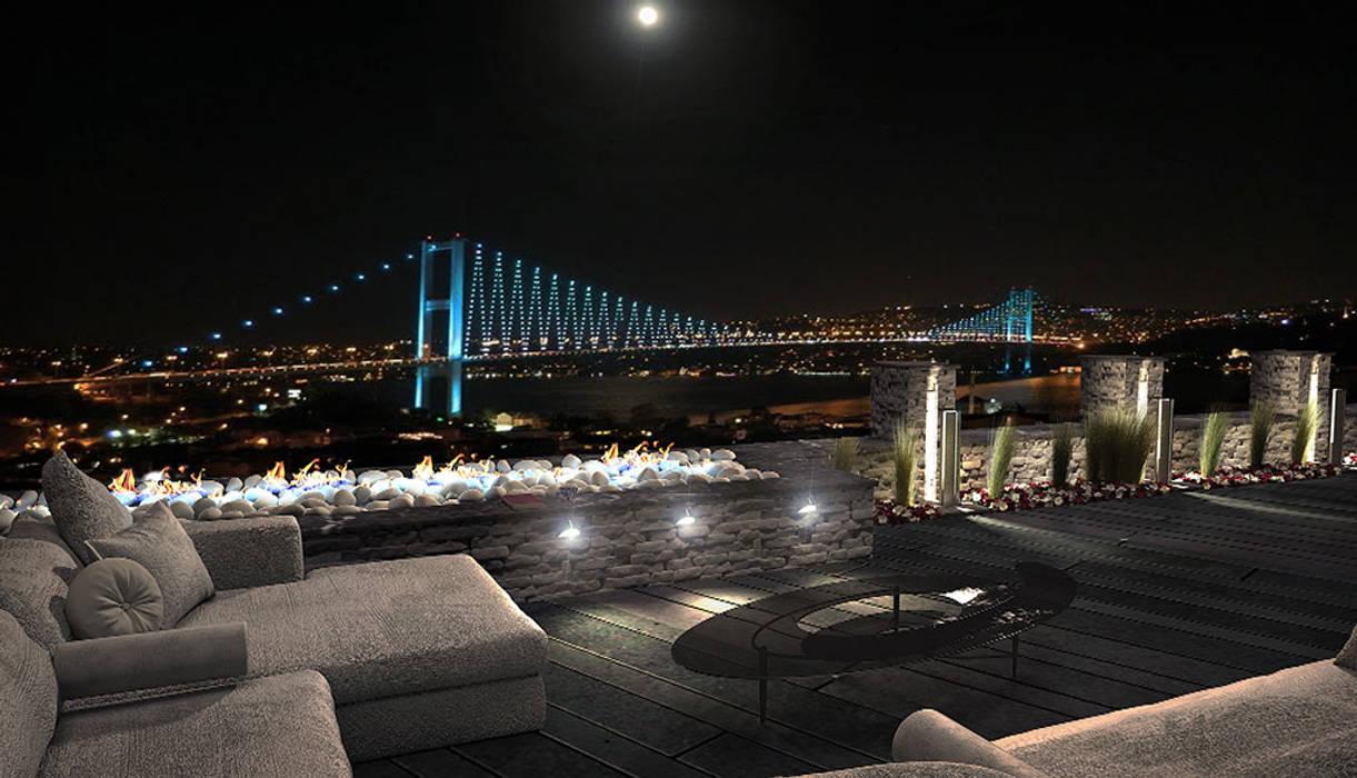 GYA Mimarlık | İç Mimarlık – TERAS İSTANBUL:  tarz Bar & kulüpler