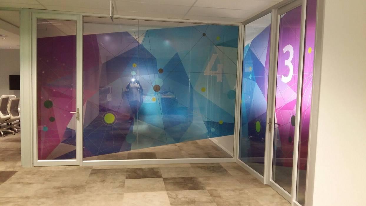 Clear Vinyl Decals Modern windows & doors by Resurface Graphics Modern