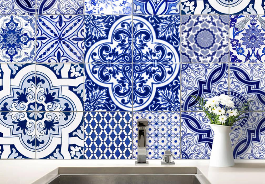 Paredes y pisos de estilo  por wall-art.fr