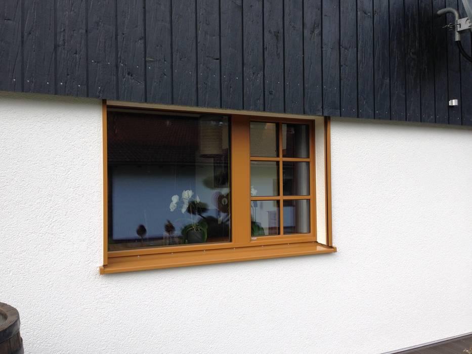 Eclectic style windows & doors by w. raum Architektur + Innenarchitektur Eclectic