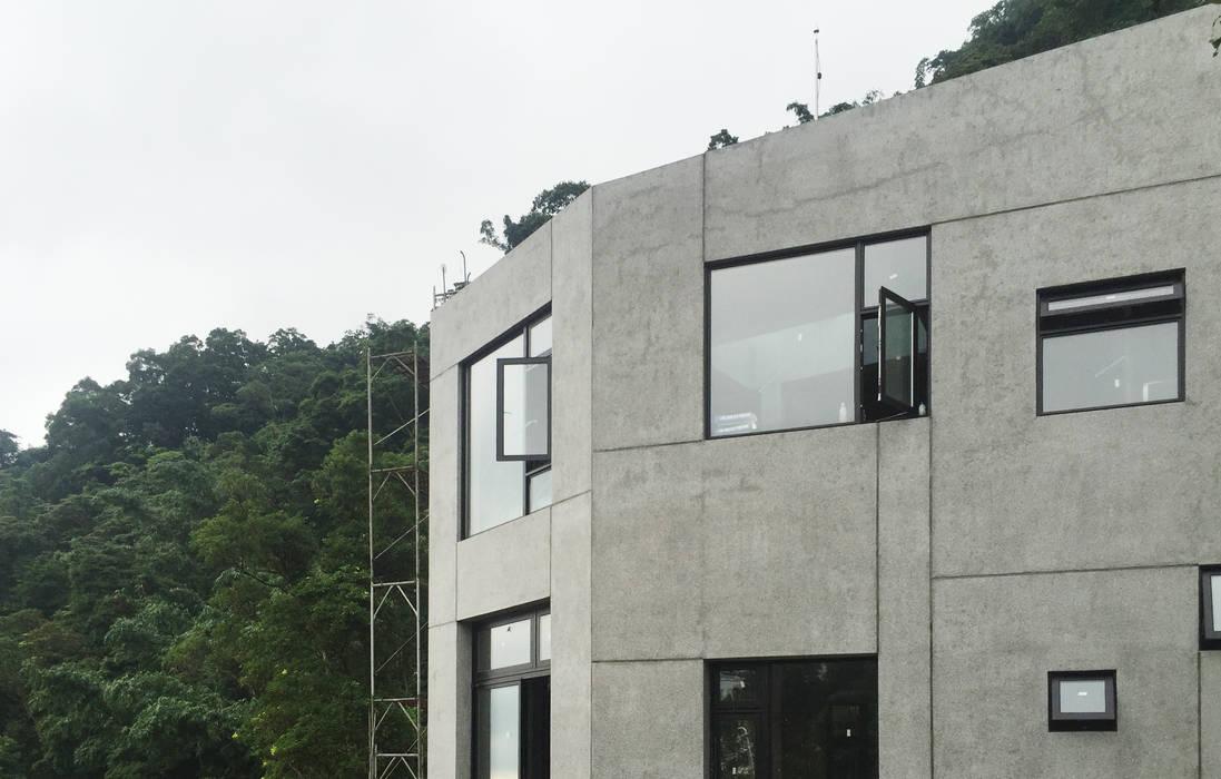 石方山居 行一建築 _ Yuan Architects 現代房屋設計點子、靈感 & 圖片