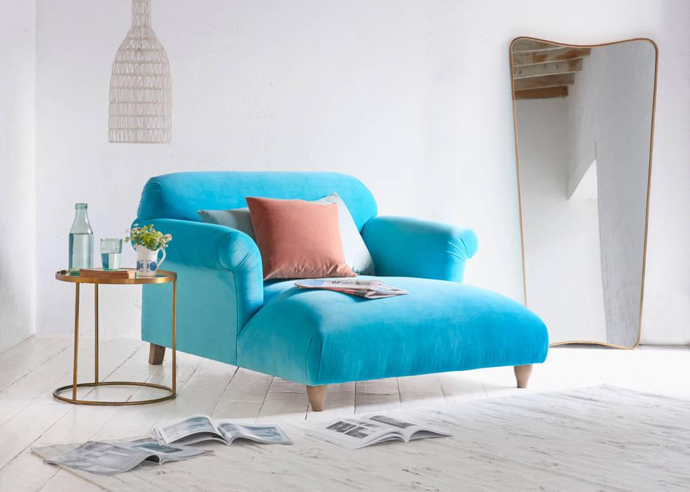 Soufflé love seat chaise por Loaf Clássico