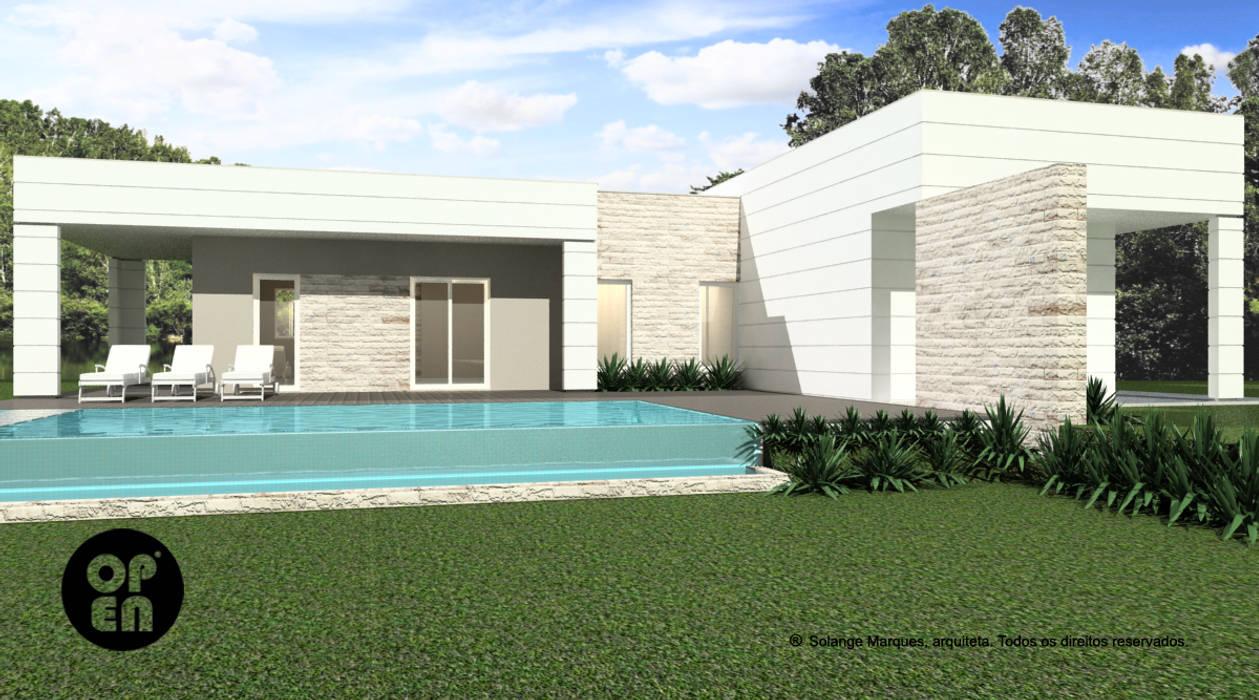 Modern style gardens by ATELIER OPEN ® - Arquitetura e Engenharia Modern
