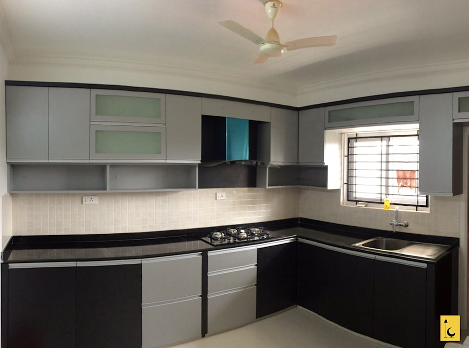 Bellisima, Mangalore Indoor Concepts KitchenCabinets & shelves Wood Black