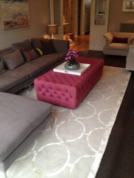 Living room: modern Living room by fleur ward interior design
